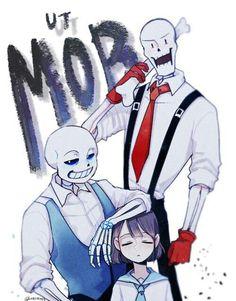 Mafiatale or Undertale mob