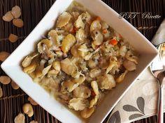 Zuppa di fave, con fave secche. #zuppa #fave #favesecche #ricetta #recipe #italianfood #italianrecipe #PTTRicette
