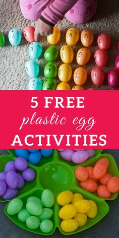 5 Free Invitations to Play: Plastic Eggs – Rolling Prairie Readers Plastic Egg Activities for Toddlers and Preschoolers Tactile Activities, Easter Activities For Kids, Preschool Learning Activities, Spring Activities, Easter Crafts For Kids, Toddler Crafts, Toddler Activities, Family Activities, Free Activities