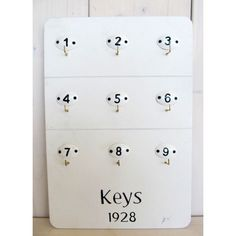Vešiak  na kľúče Keys Retro Vintage, Home Decor, Decoration Home, Room Decor, Home Interior Design, Home Decoration, Interior Design
