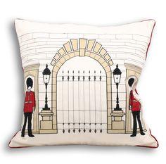 ACHICA | Royal Guard Cushion 45x45cm, Cream