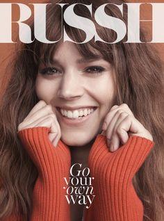 Freja Beha Erichsen by Benny Horne for Russh Magazine June/July 2014