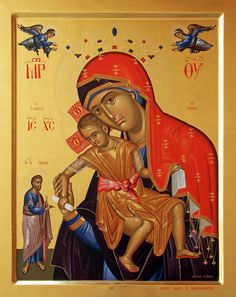 Constantine Olarean: the Painter of Saints from Cyprus Religious Images, Religious Icons, Religious Art, Christ Pantocrator, Church Icon, Queen Of Heaven, Byzantine Icons, Blessed Virgin Mary, Orthodox Icons