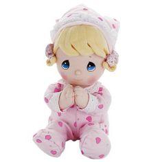 "PRECIOUS MOMENTS PRAYER Pal Doll GIRL - Prays ""Now I Lay ME DOWN To Sleep"" BABY GIRL GIFT/Shower/CHRISTENING/10"" PINK KEEPSAKE IT'S A GIRL! Precious Moments http://www.amazon.com/dp/B00CA7IWWE/ref=cm_sw_r_pi_dp_Bughub1FPZP0B"