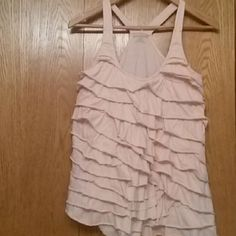 Dkny jeans racerback top Very nice and compfy light pink racerback top DKNY Tops Tank Tops
