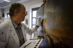 frederik cnockaert art painting Atelier Kerat restoration and conservation of Art. Preservation of old and new paintings, on canvas, paper or panel. Polychromed wooden statues, stone sculptures and other carriers. Expertise and offer to be made free. ART conservator restorer Frederik Cnockaert is the expert craftsman of the highest quality see more www.art-restaurateur.fr  info@kerat.be His applied arts Studio produces also high quality artisan paintings, commission portraits and made to…