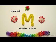 Rainbow Loom Alphabet A-Z Charms - tutorials and photos