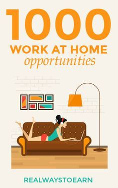 The Work at Home Directory - 1000 Ways to Make Money!