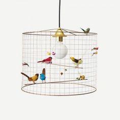 """""""La Voliere"""" pendant lamp by Mathieu Challieres."""