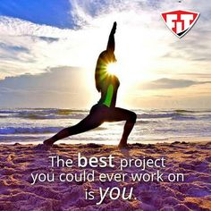 The BEST project you could ever work on is YOU!