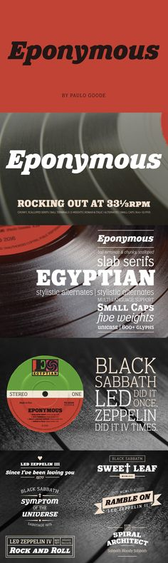 Eponymous - Eponymous is an Egyptian-style typeface with chunky, scalloped serifs. Slab Serif Fonts, Online Fonts, Glyphs, Desktop, Love You, Mood, Te Amo, Je T'aime, I Love You