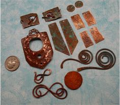 Handmade Jewelry Components  16 piecesDIY jewelry by SunStones, $28.00