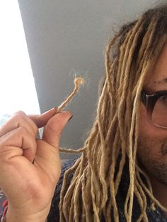 My Dreadloc Journey. 14 years of growing natural curly dreadlocs.  They've been short. They've been long. They've been jet black. They've been bleached blonde. It's my natural hair. Locs. Men with dreads. Naturally curly. Curls. Twisted. Knotty.  Kinky curly.