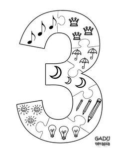 Numbers Preschool, Learning Numbers, Preschool Math, Teaching Kindergarten, Teaching Kids, Montessori Activities, Class Activities, Color Activities, Teaching Materials
