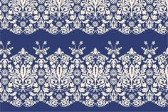 5 Lace Seamless Borders Graphics Vector seamless pattern for background, wrapping, wallpaper, textile and more.ZIP-file includes: by Sunny_Lion