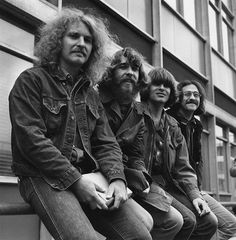 Creedence Clearwater Revival - Back in the 70's - 90's I looked like these guys, specifically the guy 2nd from the left! Those were the days.