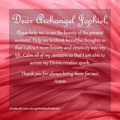 Dear Archangel Jophiel...