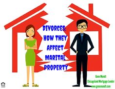 Divorces: How They Affect Marital Property Recently, I've been asked by many Realtors and Attorneys to help finance a clien. Nc Real Estate, Selling Real Estate, Real Estate Investing, Home Selling Tips, Mortgage Tips, Investment Property, Divorce, Advice, Life Tips