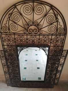 Moroccan Wrought Iron Room Divider Screen Partition Moroccan