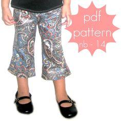 Essential Pants - short, capri and full length options elastic waist.