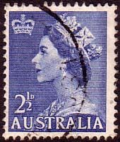 Australia 1953 Manley SG 261a Fine Used SG 261a Scott 256A Other Australian Stamps for sale HERE