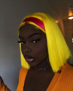 Cute straight bob wigs for black women lace front wigs human hair wigs african american wigs Hot Beauty Hair, Dark Skin Beauty, Black Beauty, Black Girl Aesthetic, Aesthetic Hair, Baddie Hairstyles, Black Girls Hairstyles, Quick Hairstyles, Party Hairstyles