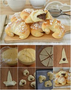 Baby Food Recipes, Sweet Recipes, Cooking Recipes, Argentine Recipes, Croation Recipes, Pan Relleno, Sweet Buns, Cooking Cake, Food Decoration