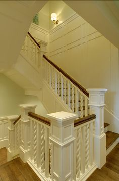 Staircase. Staircase Design Ideas. Staircase Design. Traditional staircase with custom spindles. #Staircase #StaircaseIdeas #TraditionalStaircase