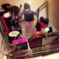 Everyday Makeup Display