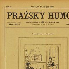 Periodikum, Pražský humor: humoristický týdenník, Ferdinand Klika, 1896-1897
