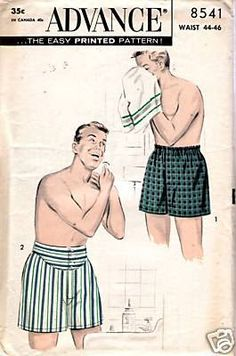 How To: Sew a Pair of Boxer Shorts