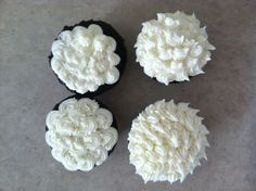Cream Cheese Frosting with Wilton Tip #18 4 ounces cream cheese 1 Stick Butter 4 1/2 cups powdered sugar, sifted 1 soup spoon milk