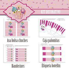 "kit decorativo shopkins ""Personaje Reina Cupcakes"" *Encargo cumpleaños Luciana"