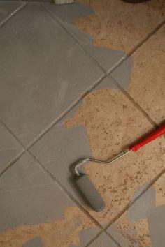 25 painting ceramic tiles ideas