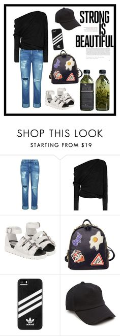 """"" by therealexandra on Polyvore featuring 7 For All Mankind, Tom Ford, WithChic, adidas, rag & bone and AMBRE"