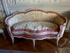 Upholstery ideas, French loveseat