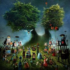 The Whimsical Imagination of Alexander Jansson