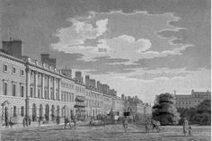"Chapter 4: Lucas takes Phoebe to Stanton House, in Grosvenor Square, to meet her relatives.  ""Phoebe clutched his muscular arm and stared up at the huge, imposing town house. The short trip through London's streets had not made her sick, but taking in all the gleaming marble, polished windowpanes, and glittering brass fixtures made her  feel more than a little dizzy."""