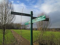Fingerposts for The Parks Trust, Milton Keynes