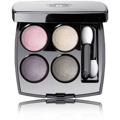 CHANEL PERLE DE CHANEL LES 4 OMBRES Multi-Effect Quadra Eyeshadow ❤ liked on Polyvore featuring beauty products, makeup, eye makeup, eyeshadow, chanel, chanel eye-shadow, chanel eye makeup and chanel eyeshadow