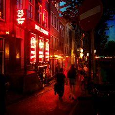 le quartier rouge, Amsterdam