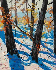 Silent Autumn   Graham Gercken 1960   Australian Impressionist Landscape painter   Tutt'Art@   Pittura * Scultura * Poesia * Musica  