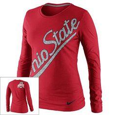 Nike Ohio State Buckeyes Tee - Women