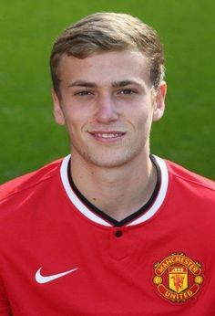 James Wilson of Manchester United poses during the annual club. Manchester United 2014, Official Manchester United Website, Manchester United Football, Old Trafford, Man Utd Fc, Sharon Jones, James Wilson, Man Utd News, Hull City