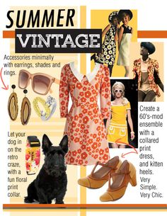 Walking the Dog: Summer Vintage get retro this season | www.rompmag.com
