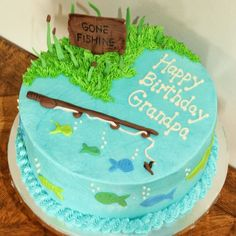 Image result for fishing themed cake