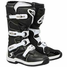 Alpinestars Tech 3 Motocross Boots Black/White MX Sole - Size 14 Alpinestars,http://www.amazon.com/dp/B00I5FIR0C/ref=cm_sw_r_pi_dp_k286sb16J8RQVCPR