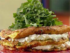 Omelete em Camadas com Abobrinha e Ricota - Food Network