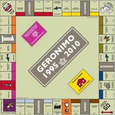 The Spirit of Geronimo: Day Twelve     To celebrate our first ten years we produced our own version of Monopoly, there was a plan mooted at the time that we should aim to open a pub on every road featured on the original board…so far we've achieved Whitehall and we are pretty close to a good few others. Within the next 18 years we'll secure the rest of them!