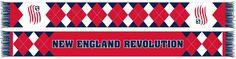 NEW ENGLAND REVOLUTION SCARF - Argyle